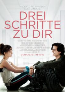 """Filmplakat """"Drei Schritte zu dir"""""""